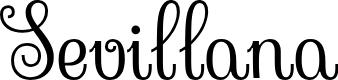 Preview image for Sevillana Font