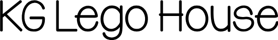Preview image for KG Lego House Font