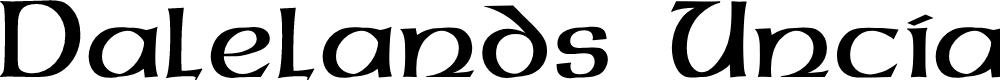 Preview image for Dalelands Uncial Font