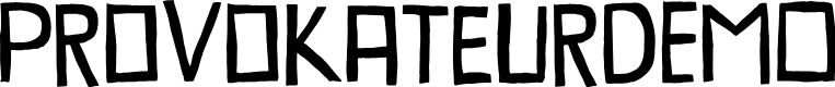 Preview image for ProvokateurDEMO Font