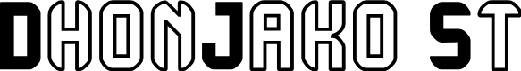 Preview image for DhonJako St Font