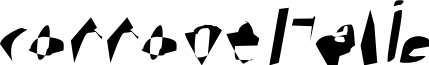 Corrode Italic
