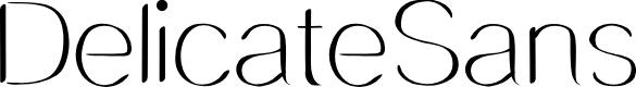 Preview image for DelicateSans Font