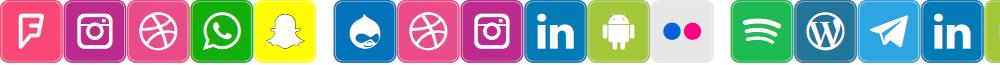 Icons Social Media 7