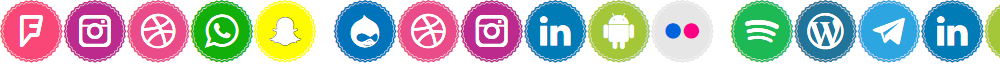 Icons Social Media 3