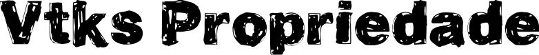 Preview image for Vtks Propriedade Font