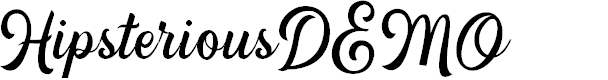 Preview image for HipsteriousDEMO Font
