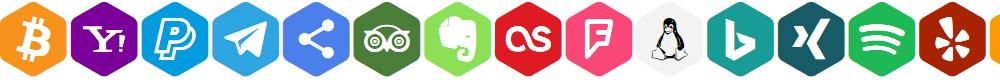 Preview image for Font Social Color Pro Font