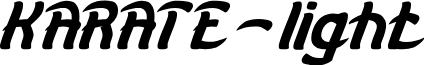 KARATE-light