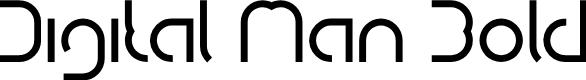 Preview image for Digital Man Bold Font
