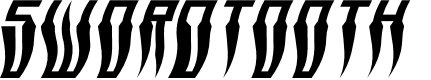 Preview image for Swordtooth Warped Italic