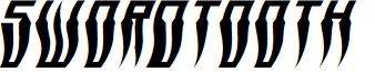 Swordtooth Warped Italic