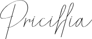 Preview image for Pricillia Font