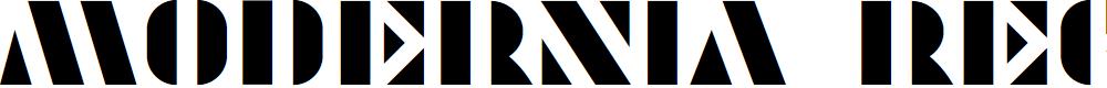 Preview image for Modernia Regular Font