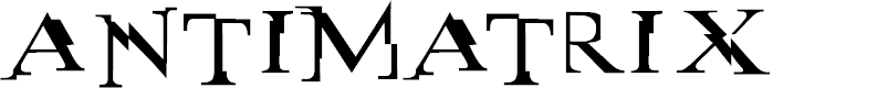 Preview image for antimatrix Font