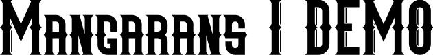 Preview image for Mangarans I DEMO Font