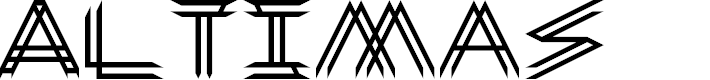 Preview image for Altimas Regular Font