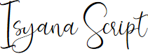 Preview image for Isyana Script Font