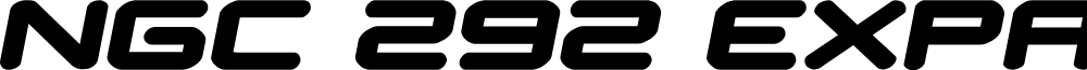 NGC 292 Expanded Semi-Italic