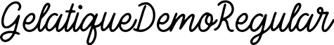 GelatiqueDemo-Regular