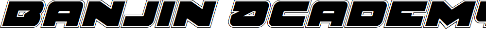 Banjin Academy Italic