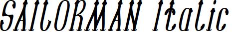 SAILORMAN Italic