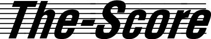 Preview image for The Score Normal Font