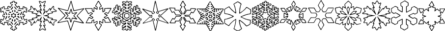 ryp_sflake3 font