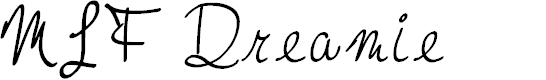 Preview image for MTF Dreamie Font