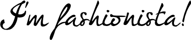 Preview image for I'm fashionista!_FREE-version Font