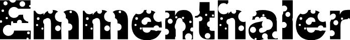 Preview image for Emmenthaler Normal Font