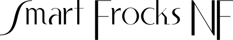 Preview image for Smart Frocks NF Font