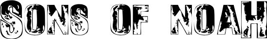 Preview image for SonsofNoah-Regular Font