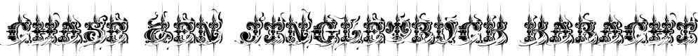 Preview image for CHASE ZEN JINGLETRUCK KARACHI Font