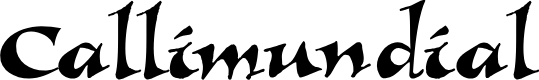 Preview image for Callimundial Font