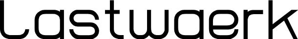 Preview image for Lastwaerk regular Font