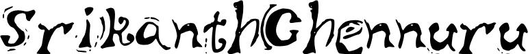 Preview image for SrikanthChennuru Font