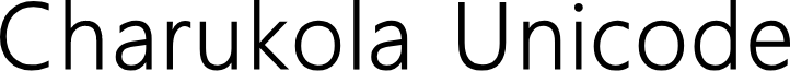 Charukola Unicode