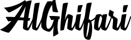 Preview image for MJ AlGhifari Font