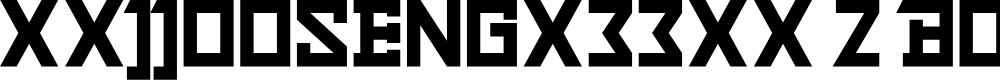 Preview image for xxjjoosengx33xx 2 Bold Font