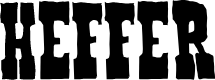 Preview image for Heffer Font