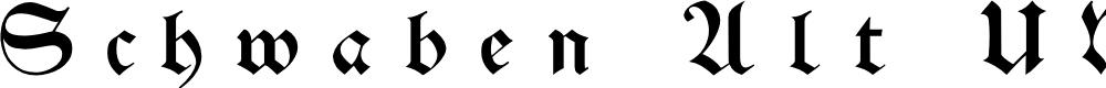 Preview image for Schwaben Alt UNZ1A Italic
