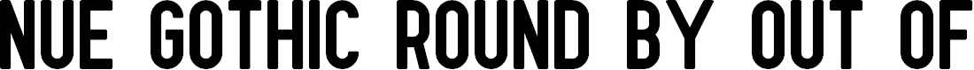 Preview image for Nue Gothic Round Font