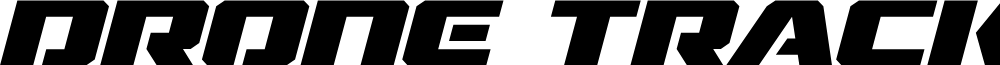 Drone Tracker Expanded Italic