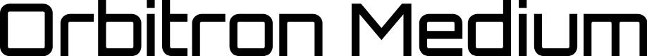 Preview image for Orbitron Medium
