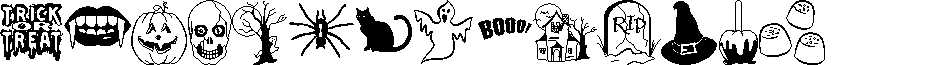 Trick or Treat BV font