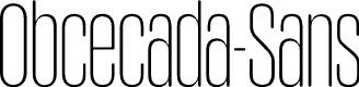 Preview image for Obcecada-Sans