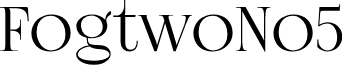 FogtwoNo5 font