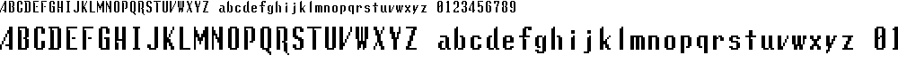 Preview image for Lunchtime Doubly So Regular Font