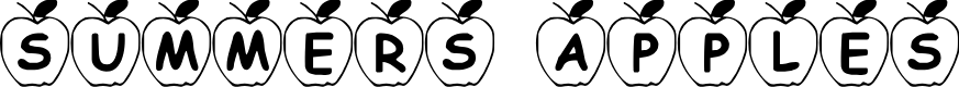 Preview image for Summer's Apples Font